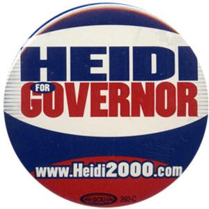 Heitkamp lost to John Hoeven, her fellow North Dakota senator, in the 2000 gov. race