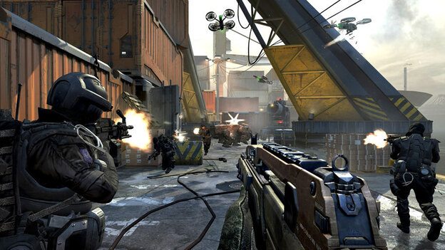 A typical scene from Call of Duty: Black Ops 2, the latest in the series of wildly popular video games. (Activision )