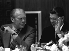 Moderates triumphed at the '76 convention but their candidate, Ronald Reagan, lost the general election in the fall,