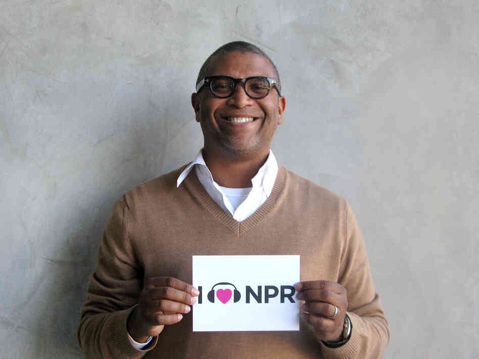 Reginald Hudlin at NPR West.