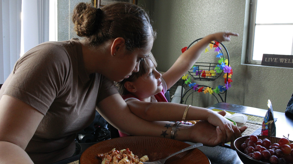 In 2011, Navy Petty Officer 2nd Class Alejandra Schwartz, and her daughter Destiny Bautista, were living in San Diego, Calif., with Schwartz's then-fiance, U.S. Navy Counselor 1st Class Luz Bautista, who was pregnant at the time. Then, same-sex partners weren't able to get the benefits that heterosexual couples could. (Reuters /Landov)