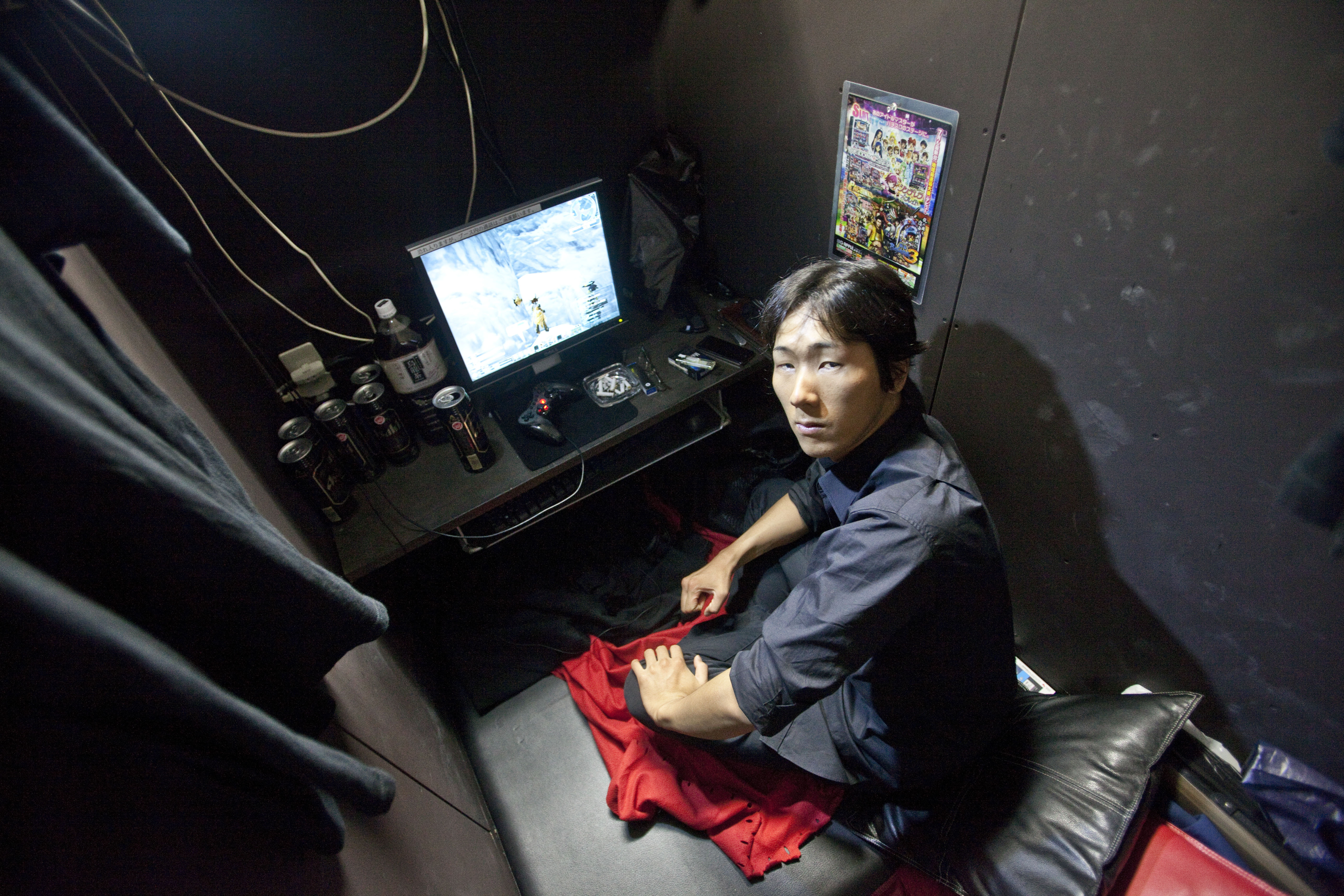 Hard Times In Japan: 'Home' Might Be An Internet Cafe | NCPR News