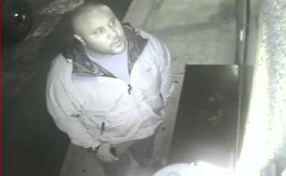 This photo, released by the Irving Calif. police department shows suspect Christopher Dorner on surveillance video at an Orange County, Calif., hotel on Feb. 8. 2013.