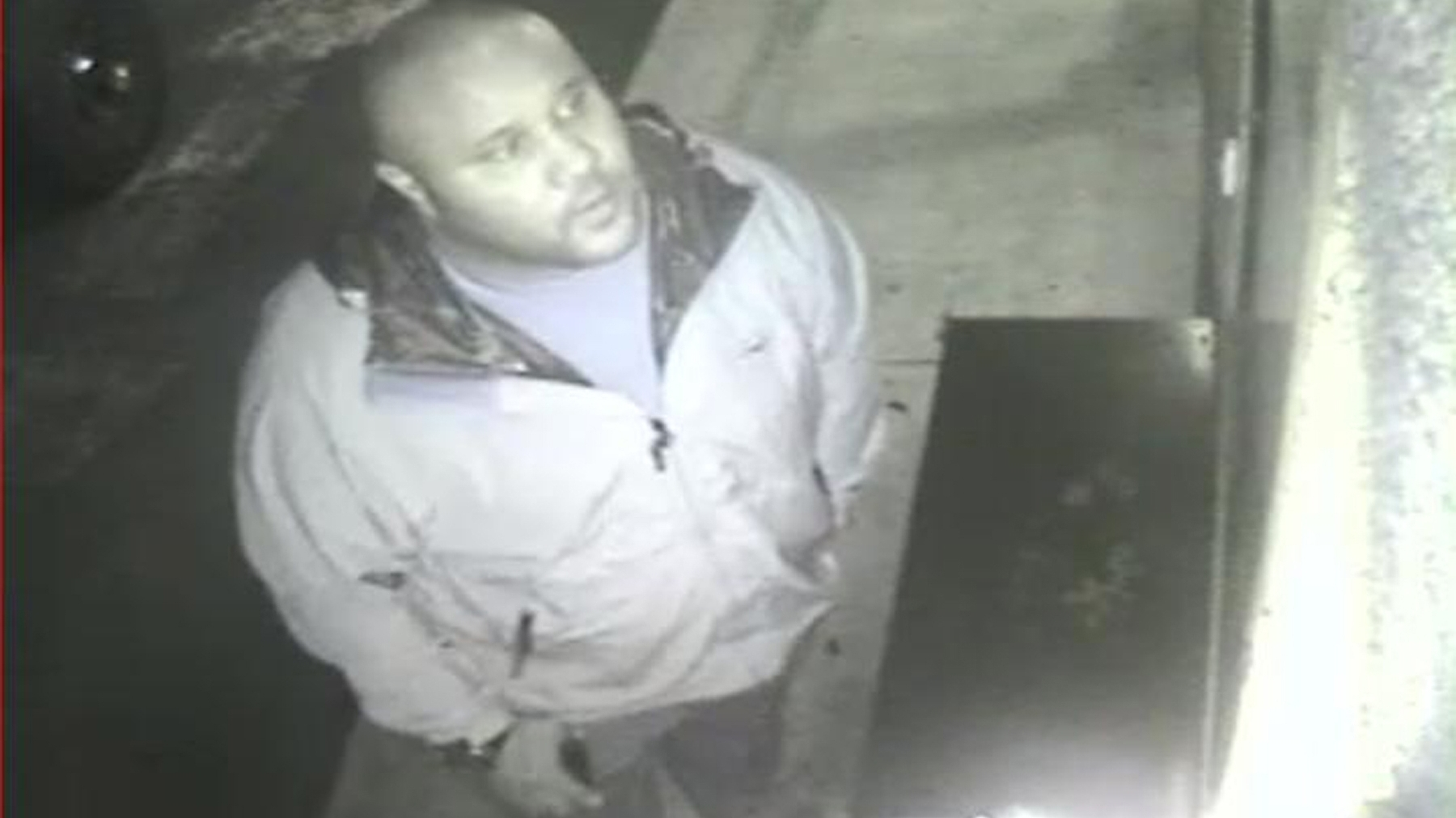 This photo, released by the Irvine, Calif., Police Department shows suspect Christopher Dorner on surveillance video at an Orange County, Calif., hotel on Feb. 8.