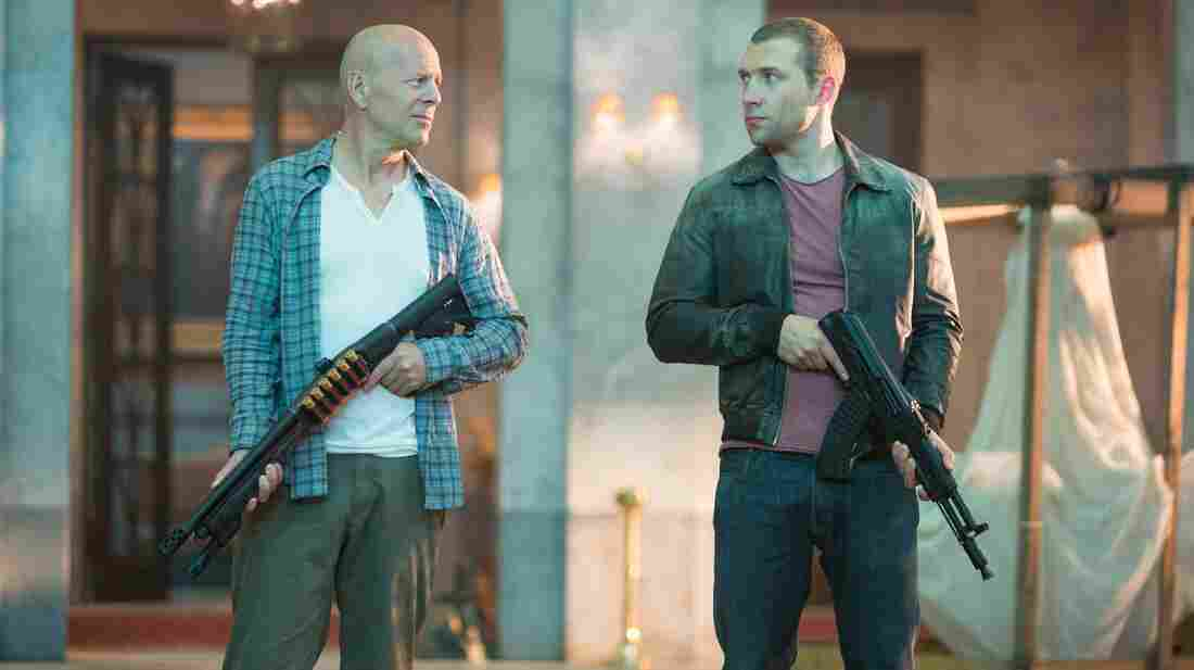 In the latest Die Hard franchise entry, John McClane (Bruce Willis) and his son, Jack (Jai Courtney), team up to fight nuclear-weapons thieves.