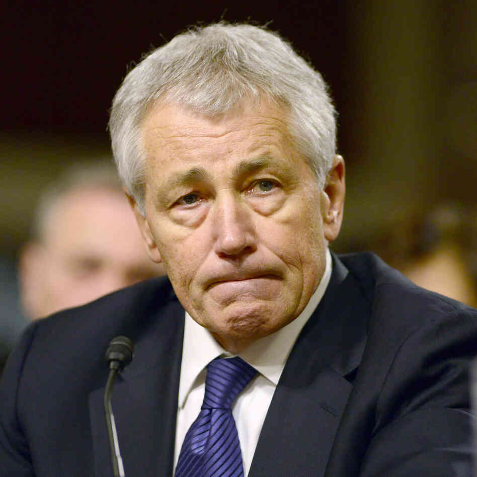 Former Sen. Chuck Hagel, R-Neb., who has been nominated to be the next secretary of defense.