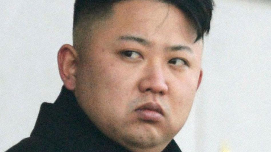 North Korean leader Kim Jong Un. (Kyodo /Landov)