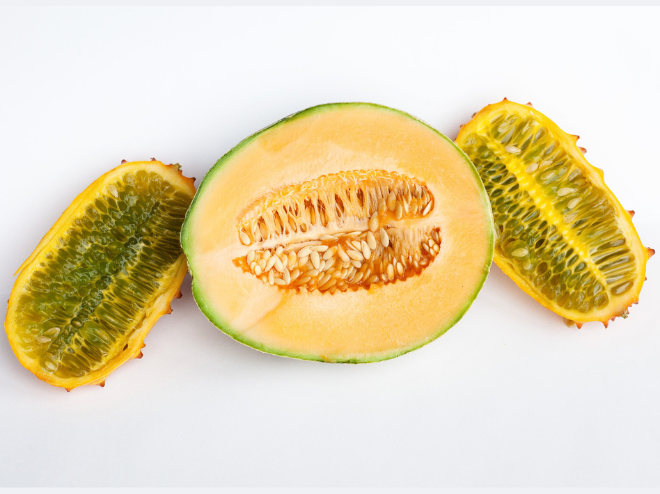 Seeds of fear? To most of us, cantaloupe and horn melon look like a healthy breakfast or snack. But the clusters of seeds can evoke anxiety, nervousness and even nausea for some trypophobes.