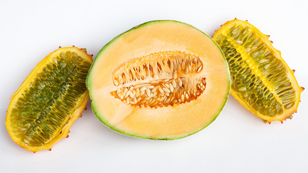 Seeds of fear? To most of us, cantaloupe and horn melon look like a healthy breakfast or snack. But the clusters of seeds can evoke anxiety, nervousness and even nausea for some trypophobes. (NPR)