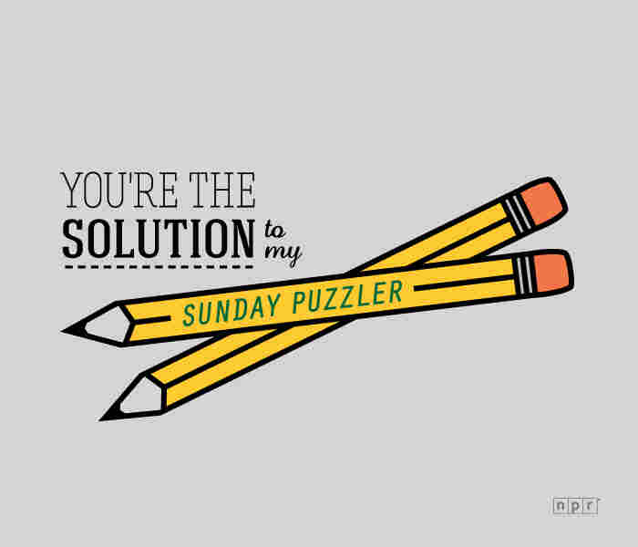 You're the solution to my Sunday Puzzler.