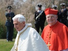 Pope Benedict XVI (left) and Cardinal Angelo Scola of Milan in 2011. Scola is among those seen as a likely successor to Benedict.