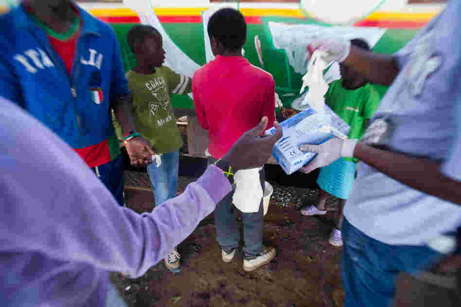Kids from the Kibera slum have spent the week spray-painting murals and performing poetry as part of Kibera Walls for Peace, a not-for-profit project to promote inter-ethnic unity.