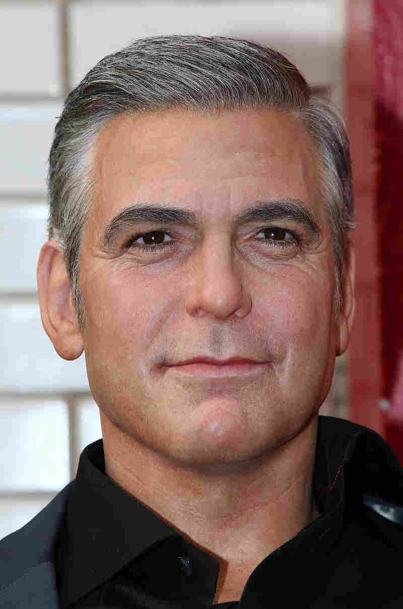 Like Dorothy Michaels in Tootsie, Wax George Clooney looks better if you don't get too close. How do you feel about Cleveland?