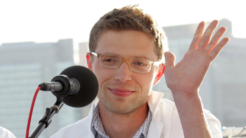 Jonah Lehrer attends a panel discussion for the World Science Festival in 2008. (Getty Images)