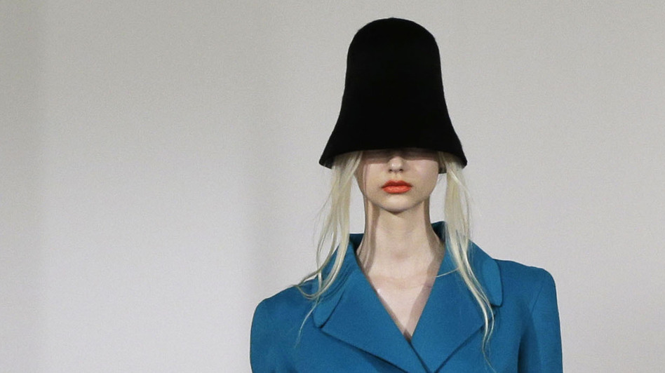 Fashion from designers like Oscar de la Renta were on display at Fashion Week in New York. (AP)