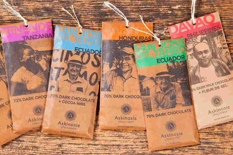 Askinosie Chocolate, launched six years ago, is one of the pioneers of the bean-to-bar movement.  Bars are made with beans from single regions, or a single farm.