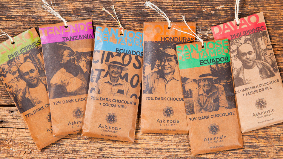 Askinosie buys beans directly from small farmers. The goal: better quality control, and more cash to the growers. (Courtesy of Askinosie Chocolate)