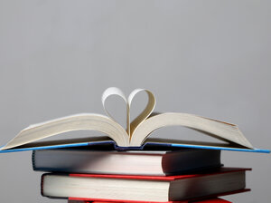 iStockphoto.com image of a stack of books
