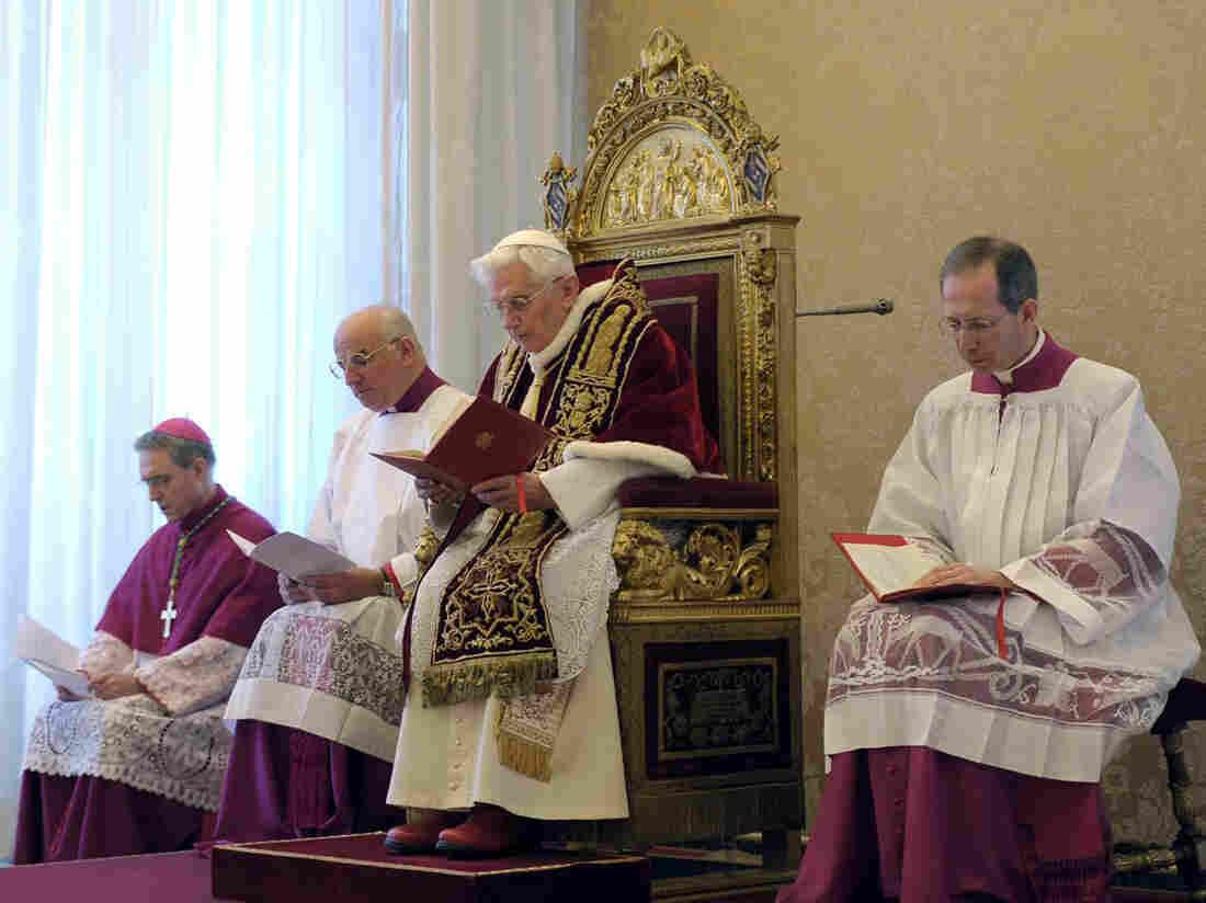Pope Benedict XVI announced his resignation on Monday.