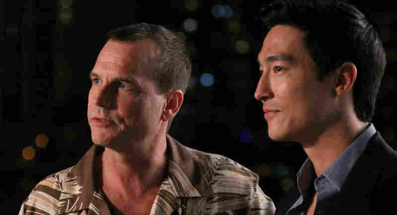 Donald (Bill Paxton) helps show Sam around Shanghai as the unofficial mayor of the Chinese city's American Quarter.