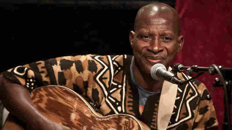 Sidi Touré performed live at KEXP in Seattle.
