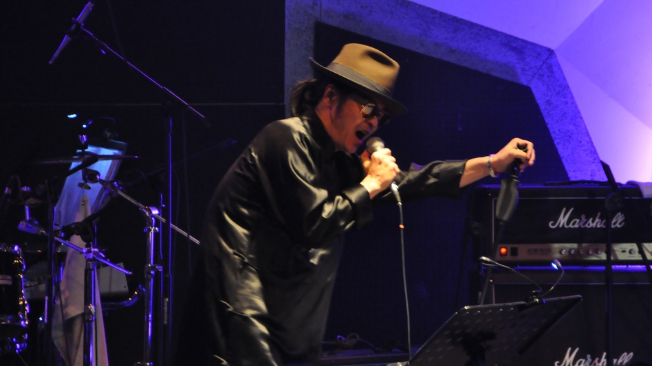 Zuoxiao Zuzhou performing at his first concert in Beijing in two years on Jan. 18.