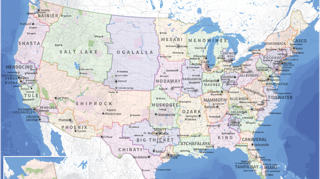 A Crazy But Rational Solution To Our Electoral College Problem – Usa Map Google
