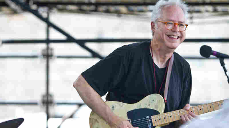 Bill Frisell Plays John Lennon on the Fort Stage at the Newport Jazz Festival.