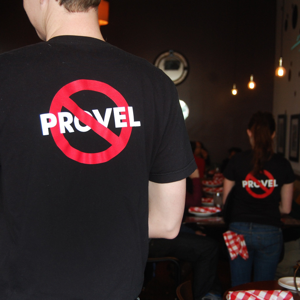 The St. Louis-based Pi Pizzeria chain prides itself on not using Provel in its pizzas.