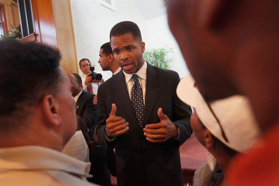 Congressman Jesse Jackson Jr. (D-IL) in 2009.