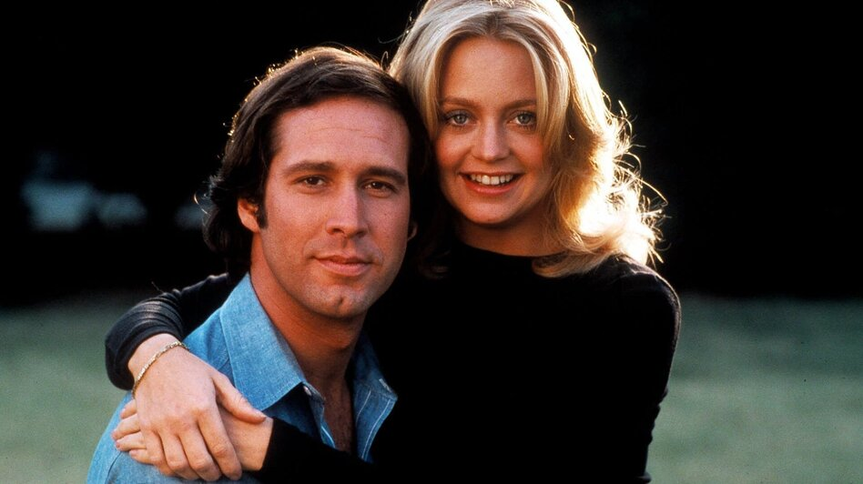 Goldie Hawn and Chevy Chase in the 1978 movie Foul Play. (AP)