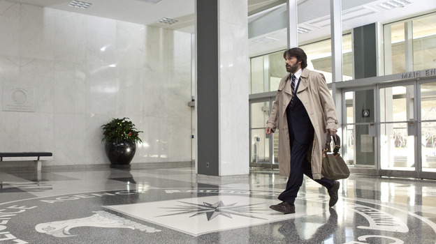 Ben Affleck played CIA agent Tony Mendez in Argo. The real Mendez says the movie is mostly spot on, even if the rescue at the end wasn't quite what the film depicts. (Claire Folger)