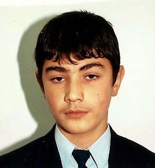 Ibrahim Gumus was 16 when he ran away from his home in Turkey to join al-Qaida. This is the photo his father — who traveled to Afghanistan to try and find him — carries in his wallet.
