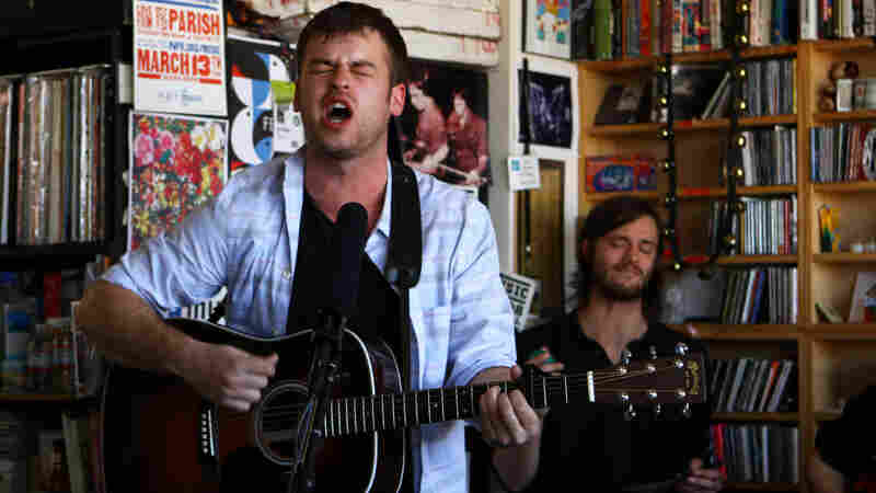 Night Beds' members perform a Tiny Desk Concert on Feb. 6, 2013.