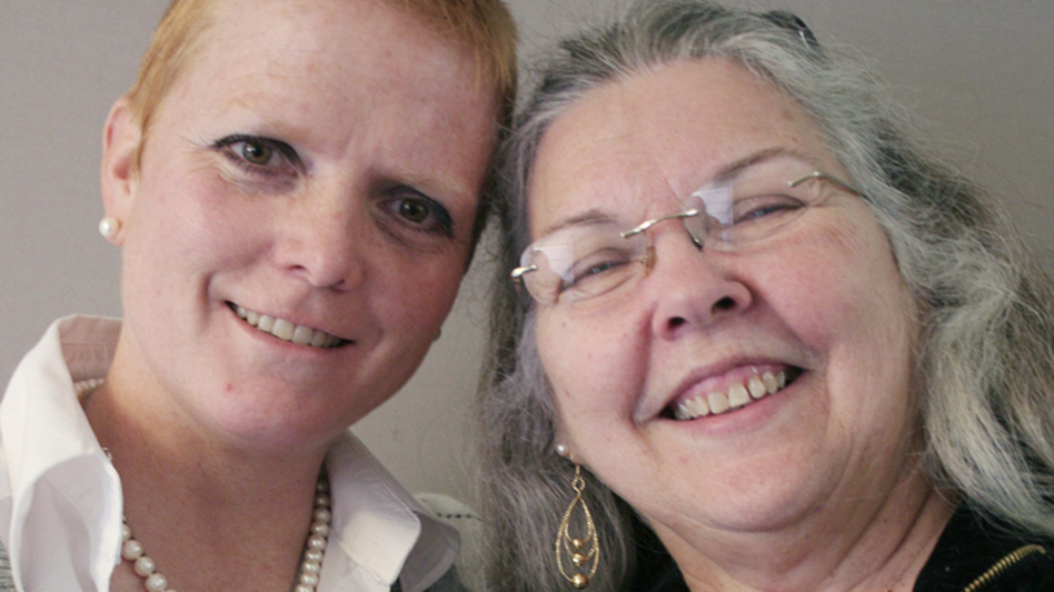 Tracy Johnson and her mother-in-law, Sandra Johnson. (StoryCorps)