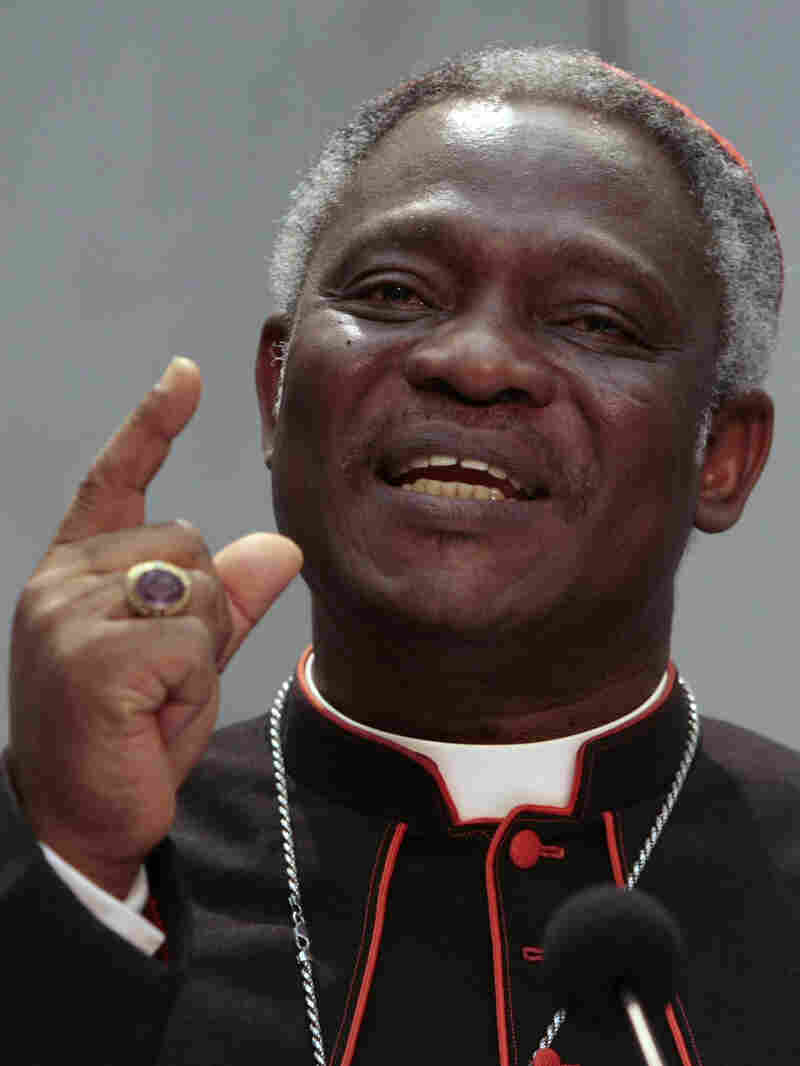 Ghanaian Cardinal Peter Kodwo Appiah Turkson is seen as a possible contender if a pope is chosen from Africa.