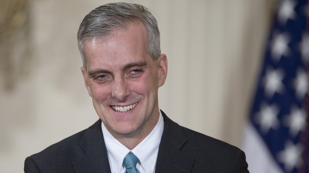White House Chief of Staff Denis McDonough at the White House on Jan. 25. (AP)