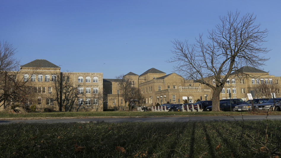 Some elderly and disabled residents of Belle Harbor Manor were evacuated here, to the Creedmoor Psychiatric Center campus in Queens, as a result of Superstorm Sandy. (AP)