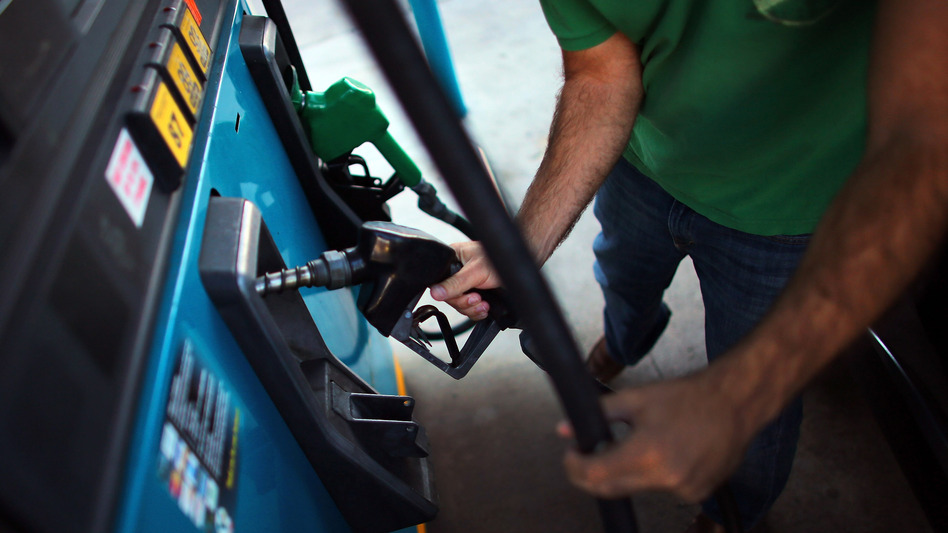 Reports indicate that gas pump prices are at their highest level on record for this period of the year, but consumers might see a break in the near future — if all goes well. (Getty Images)