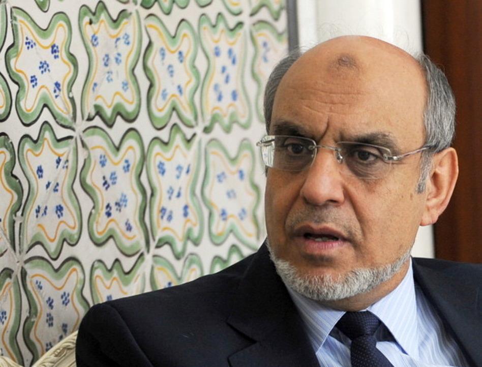 Tunisian Prime Minister Hamadi Jebali.