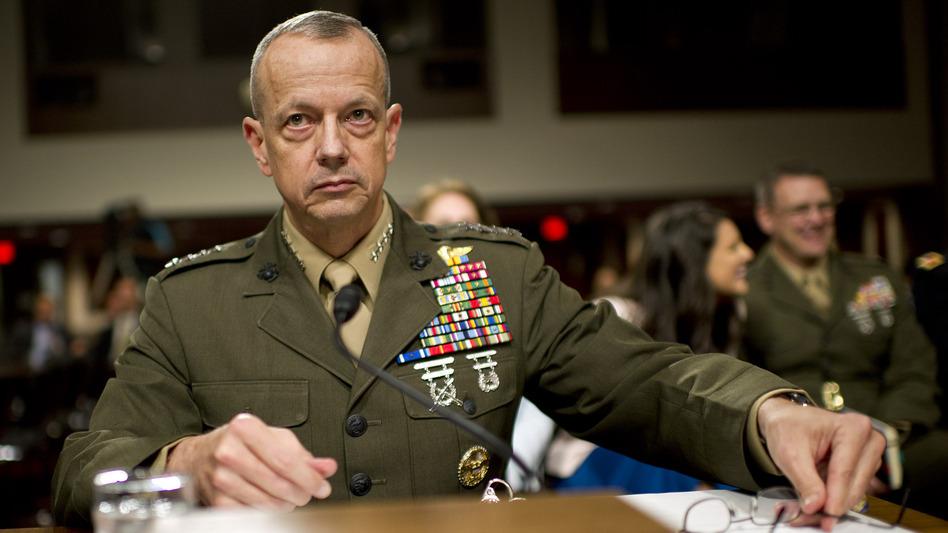 Marine Corps Gen. John Allen in March 2012. (UPI /Landov)