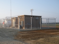 FEMA has constructed new buildings known as Primary Entry Point Stations, like this one in Fresno, Calif., to support the nation's Emergency Alert System.