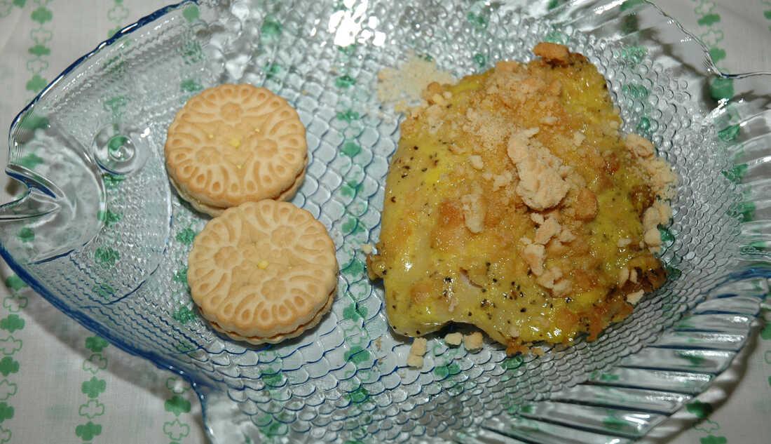Girl Scout Cookie Lemon Fish