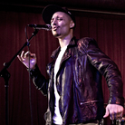 Jose James performs before a live audience for KCRW.