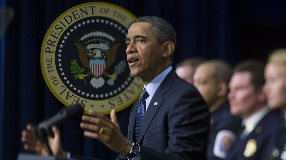 On Tuesday, President Obama urged congressional action to prevent automatic spending cuts scheduled to begin on March 1. (EPA/Landov)
