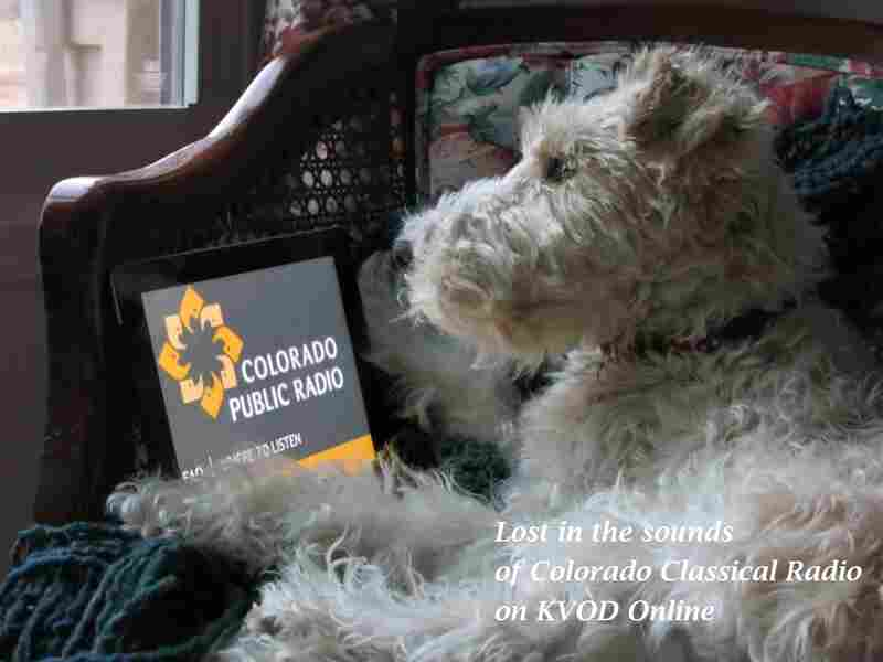 Jake is a fan of Colorado Classical Radio on KVOD.