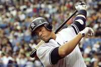 The New York Yankees' Alex Rodriguez has admitted taking performance-enhancing drugs when he played for the Texas Rangers in 2001. Here, he takes a practice swing during a 2007 game.