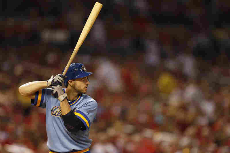 After Ryan Braun of the Milwaukee Brewers was named the National League MVP in 2011, he tested positive for performance-enhancing drugs. His 50-game suspension was eventually overturned on appeal.