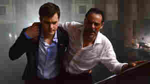 Paul (Joshua Jackson, left), a suave Canadian diplomat in chaotic Damascus, works to help Adib (Alexander Siddig) find his missing daughter as the city falls apart.