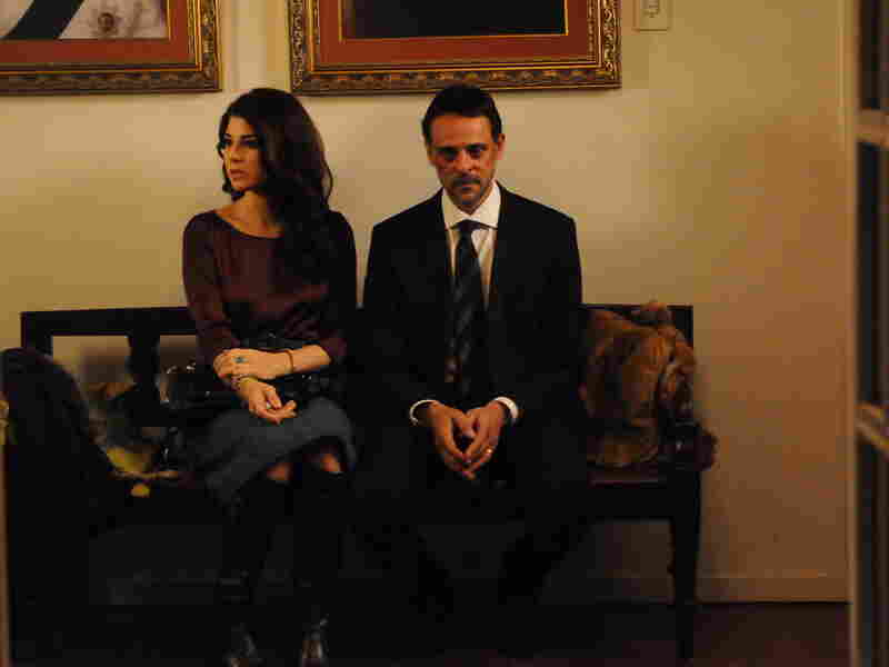 The versatile Marisa Tomei has little to do as Fatima but hopelessly moon over ex-fiancee Adib.
